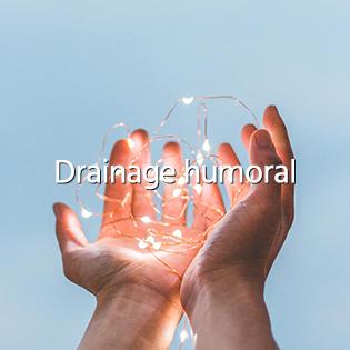Drainage humoral