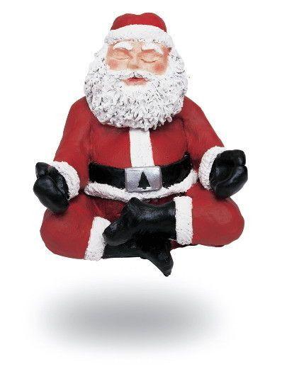 Père Noël zen Florence Drean Naturopathe St Genis Laval