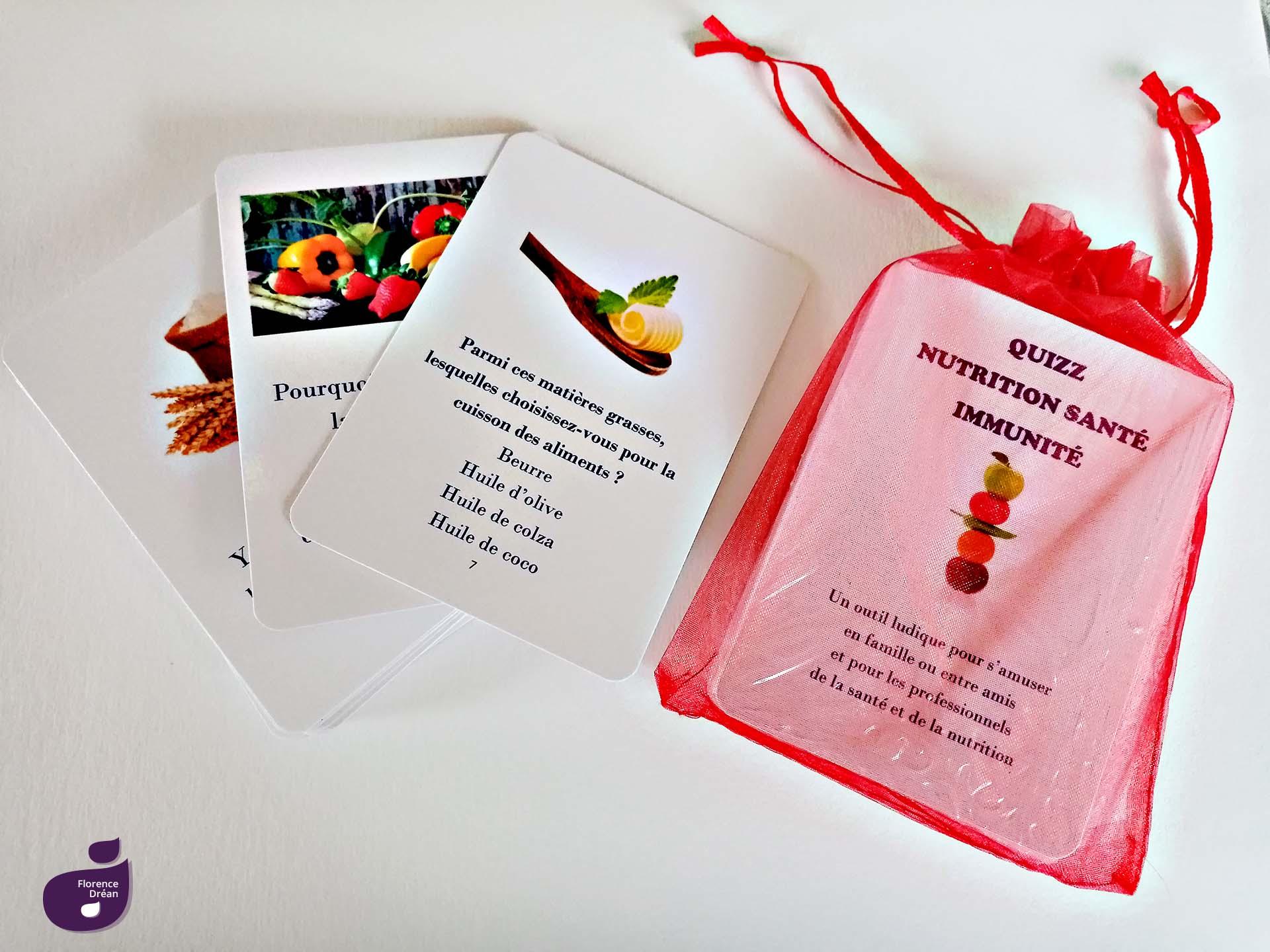 Quizz Nutrition Santé Immunité Florence Drean Naturopathe Saint Genis Laval